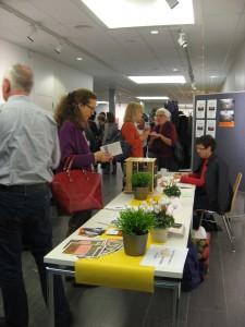 Stand accueil congrès Bienne 2014